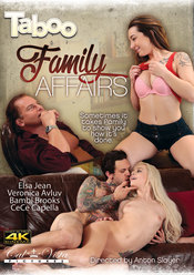 Cover von 'Taboo: Family Affairs'