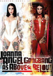 Cover von 'Joanna Angel Gangbang: As Above So Below'